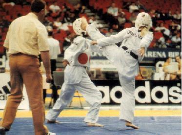 Contenidos de la preparación física para competidores de Taekwondo