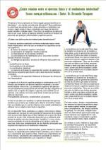 ¿Existe relación entre el ejercicio físico y el rendimiento intelectual?