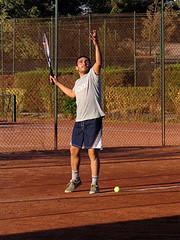 Lesiones frecuentes en el jugador de tenis