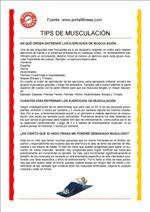 Tips de Musculación
