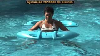 """30 ejercicios para realizar fitness acuático con bicicleta """"velaquagym"""""""