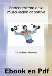 Ebook: Entrenamiento de la Musculación Deportiva