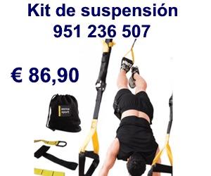 Kit para entrenamiento en suspensión
