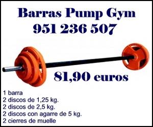 Barras Pump Gym